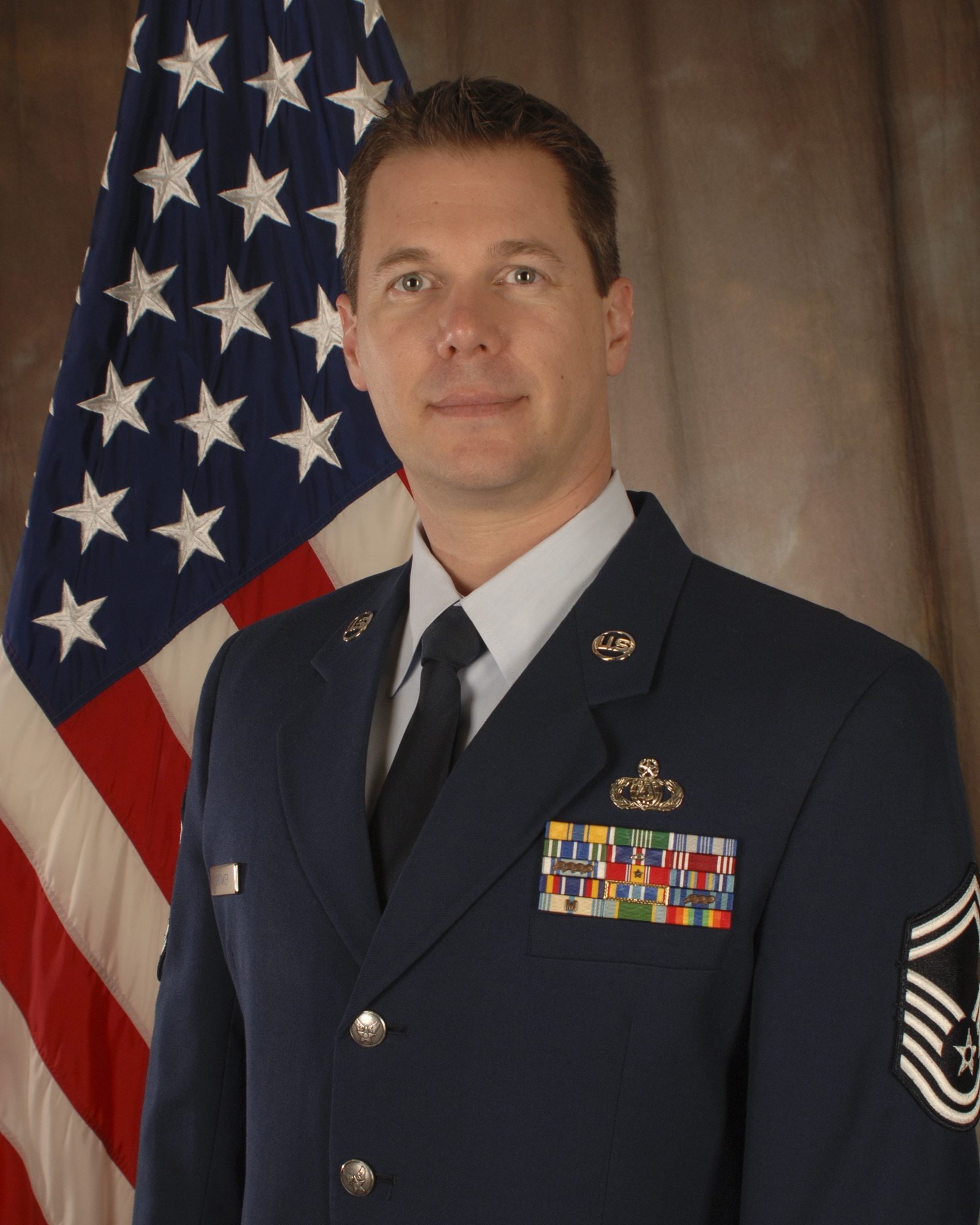 Sr. Master Sergeant Brent Whitaker, Band Manager of the Air National Guard Band of the South