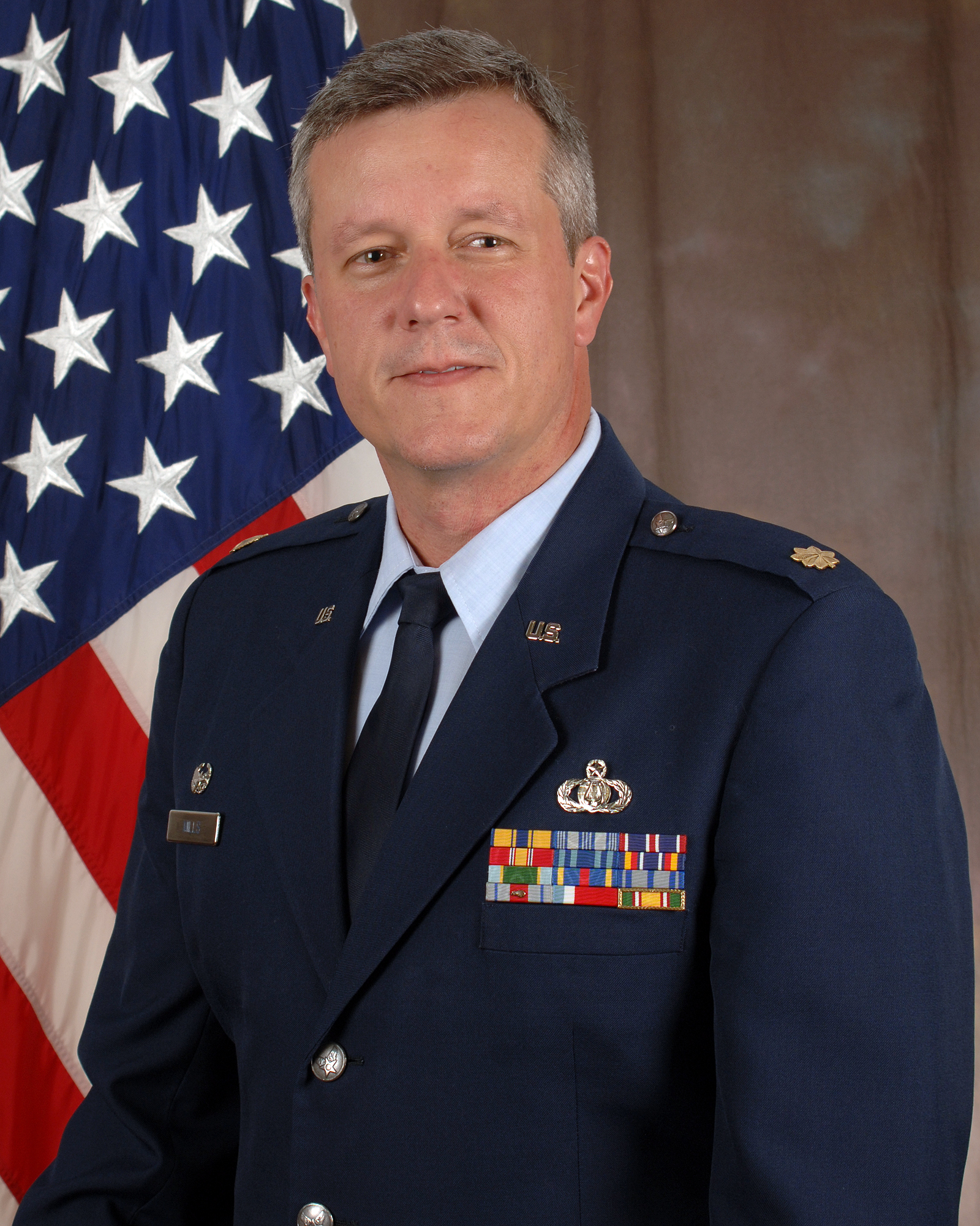 Lt. Col. Roger Mills, Commander and Conductor of the Air National Guard Band of the South