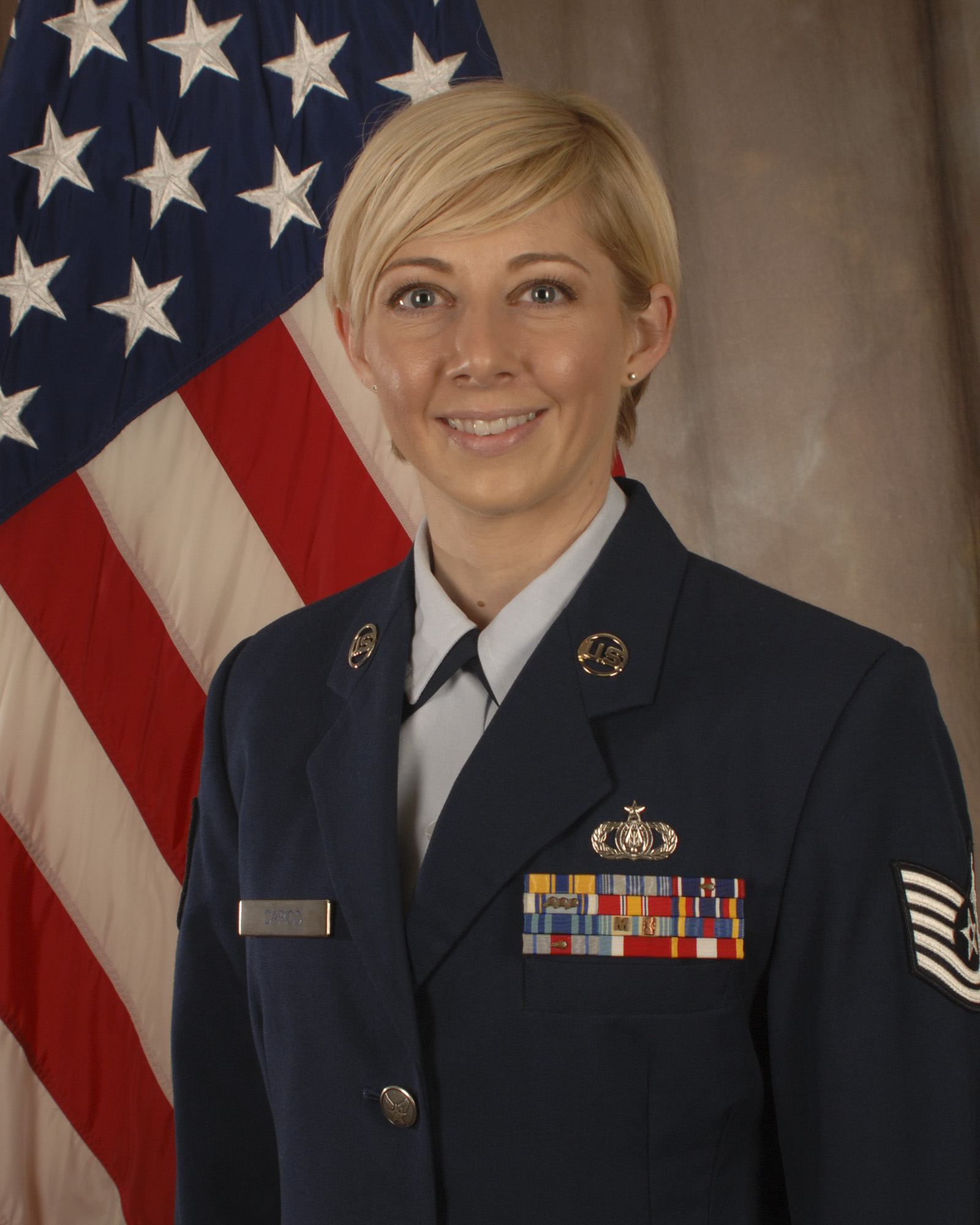 Technical Sergeant Traci Carico, First Sergeant of the Air National Guard Band of the South